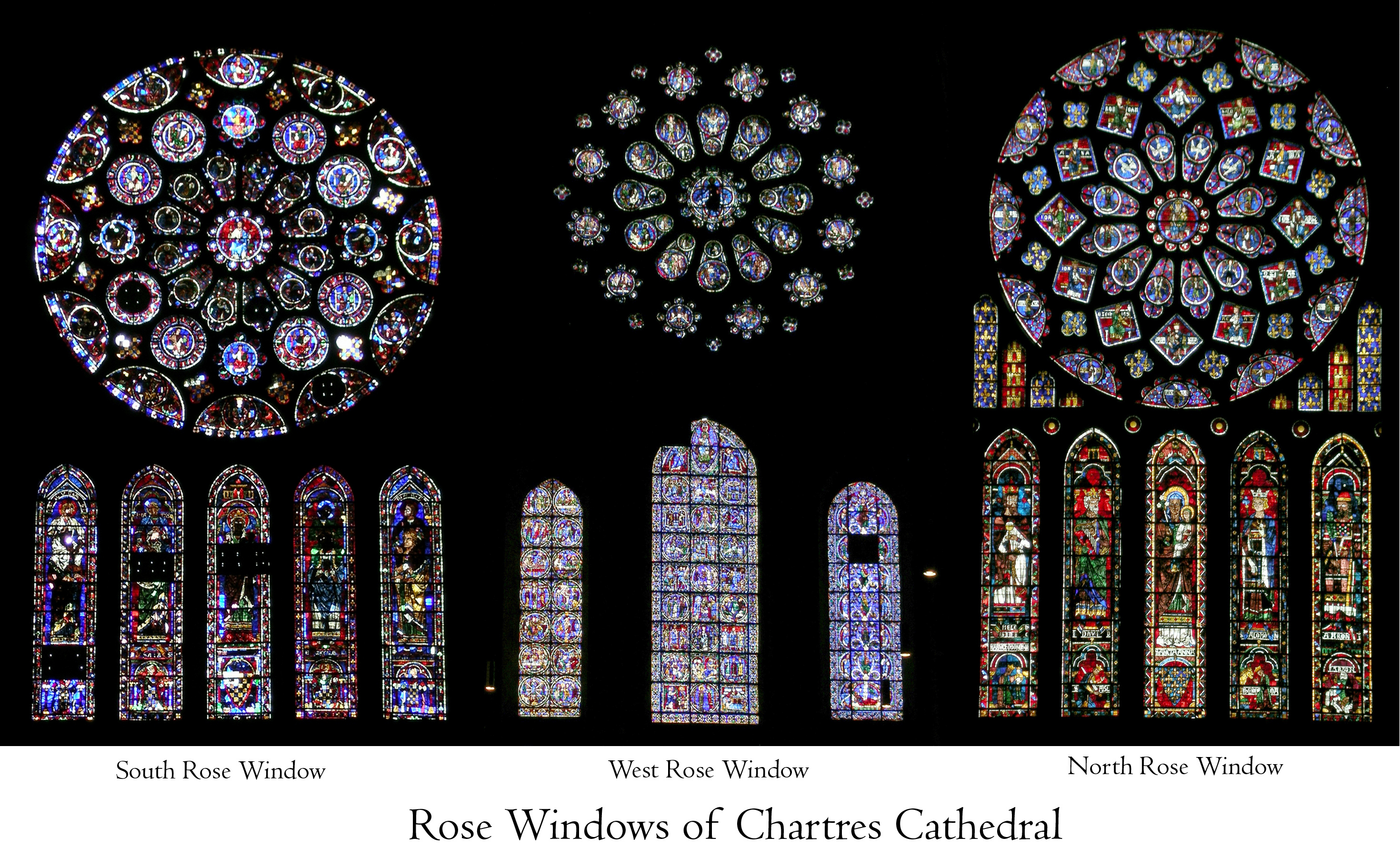 chartres cathedral interior rose window the chartres roses