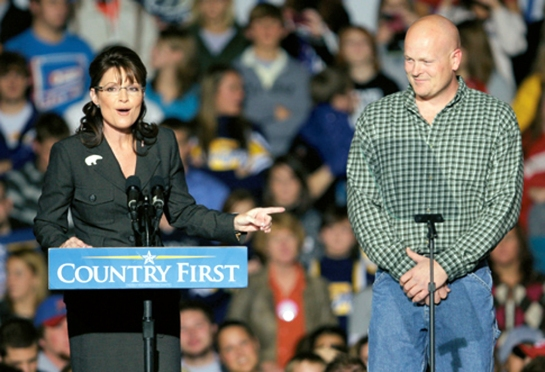 Sarah Palin and Joe the Plumber