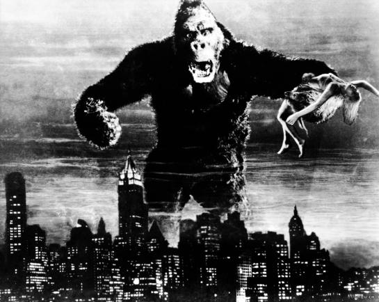 Kong over city