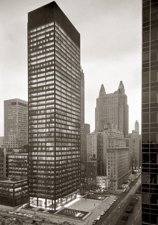 seagram's building