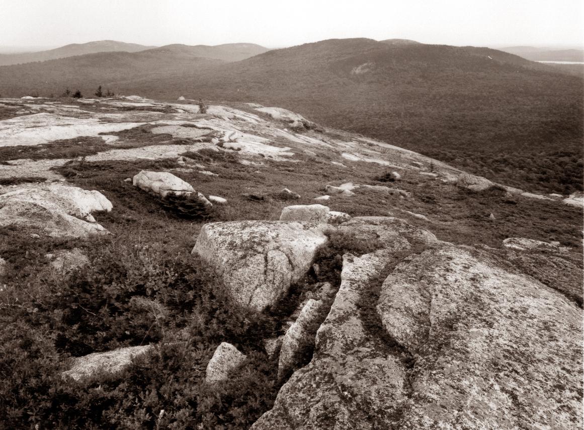 Summit, Schoodic Mountain