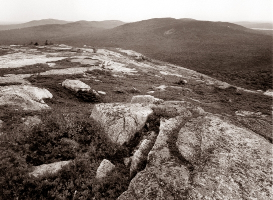 Summit, Schoodic Mountain