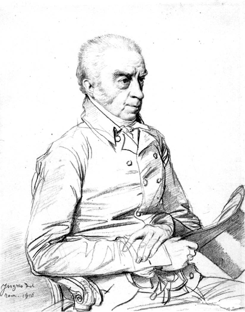 Ingres' Dr. Thomas Church