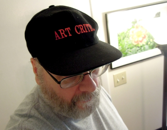 art critic cap copy