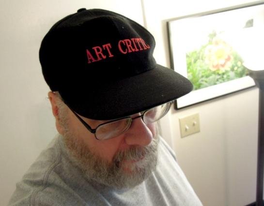 art critic cap copy