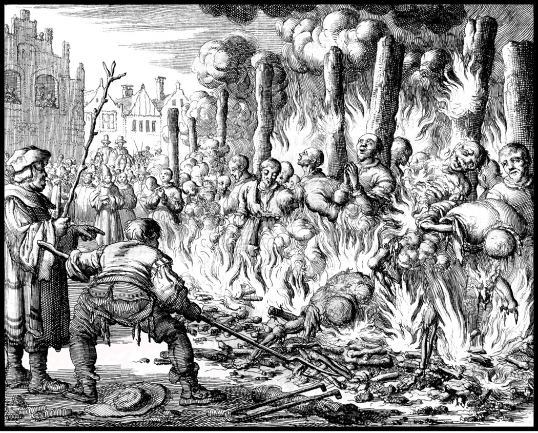burned at the stake
