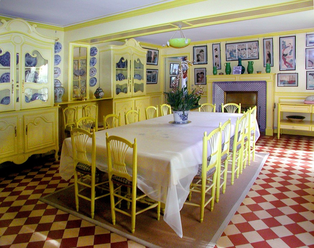 Dining Room At Giverny