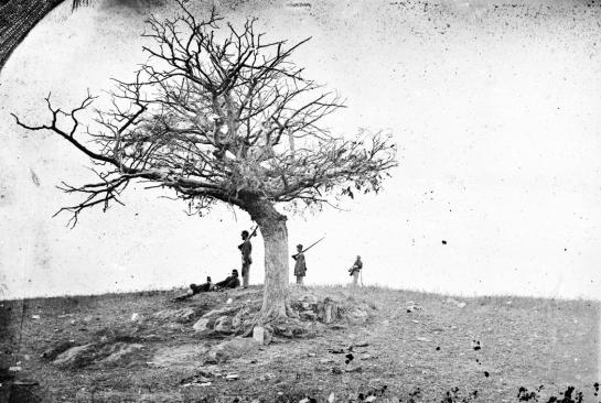 grave digging patrol antietam 1862