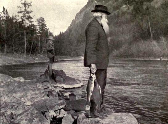 Burroughs fishing