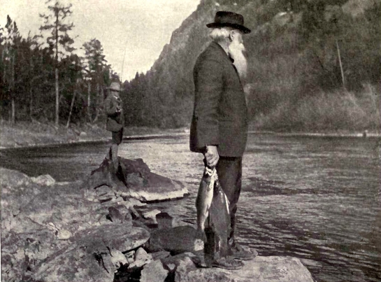 Burroughs fishing