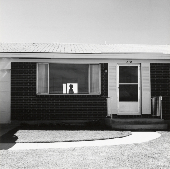 "Robert Adams, ""Colorado Springs, Colo. 1968"""