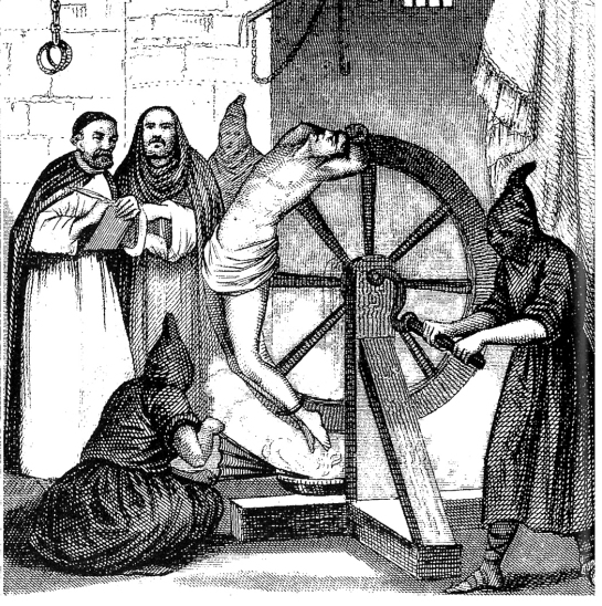 The wheel of the inquisition