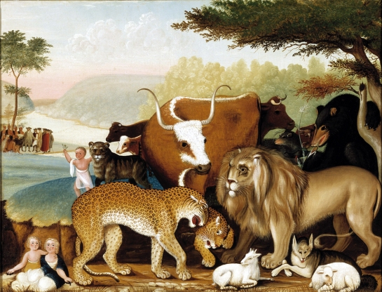 """Peaceable Kingdom"" by Edward Hicks"