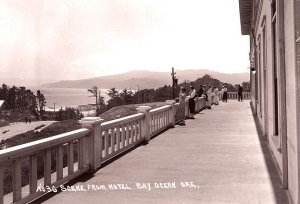 Bayocean hotel view