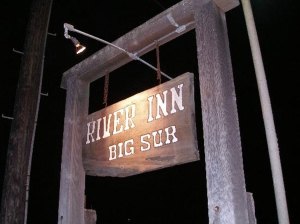 big sur river inn sign