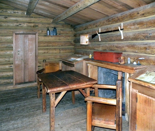 Fort Clatsop interior