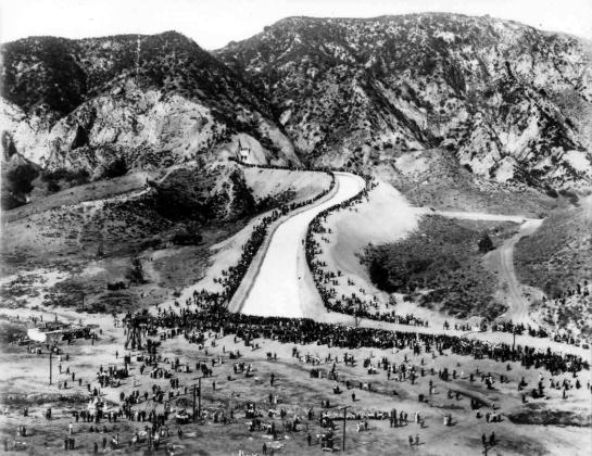 LA aqueduct opening day