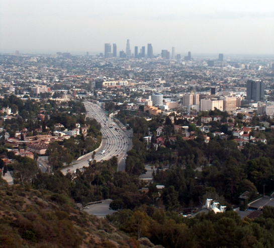 LA from mulholland