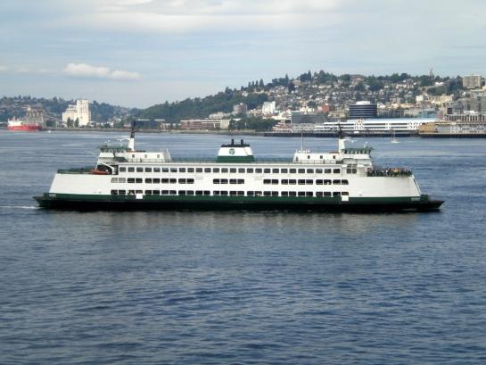 MV Kitsap arriving in Seattle