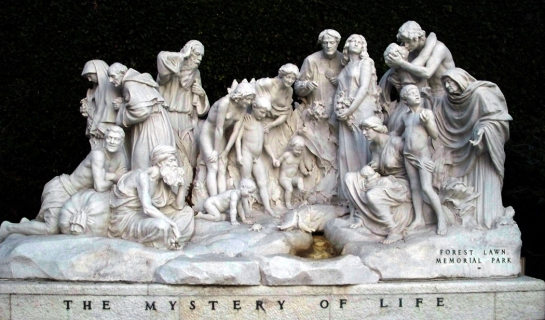 mystery of life forest lawn