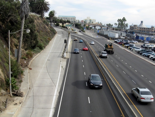 PCH begins at santa monica