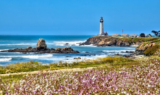 Pigeon Point lighthouse PCH