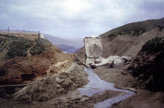 st francis dam day after