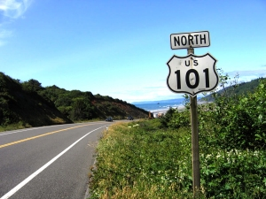 US101 sign