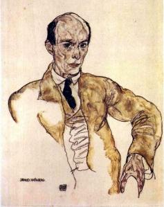 Schoenberg by Egon Schiele