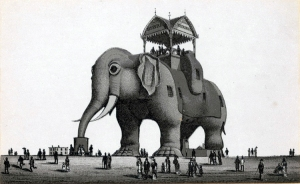 atlantic city elephant