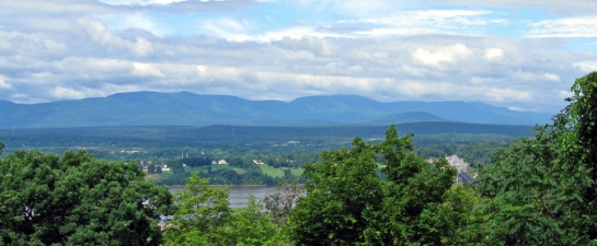catskills from olana