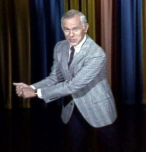 johnny carson golf swing