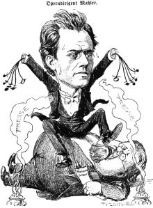 mahler caricature 4