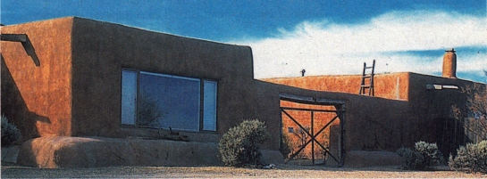 okeeffe abiquiu home copy
