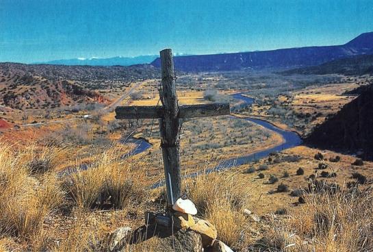 okeeffe landscape cross