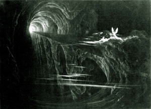The Bridge Over Chaos, from Paradise Lost