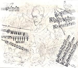 Zasche Theo Gustav Mahler 1906
