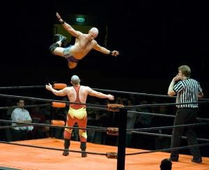 Christopher Daniels flying leap