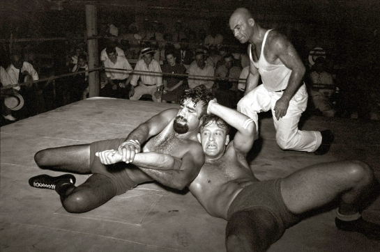 Wrestling Sikeston, MO 1938