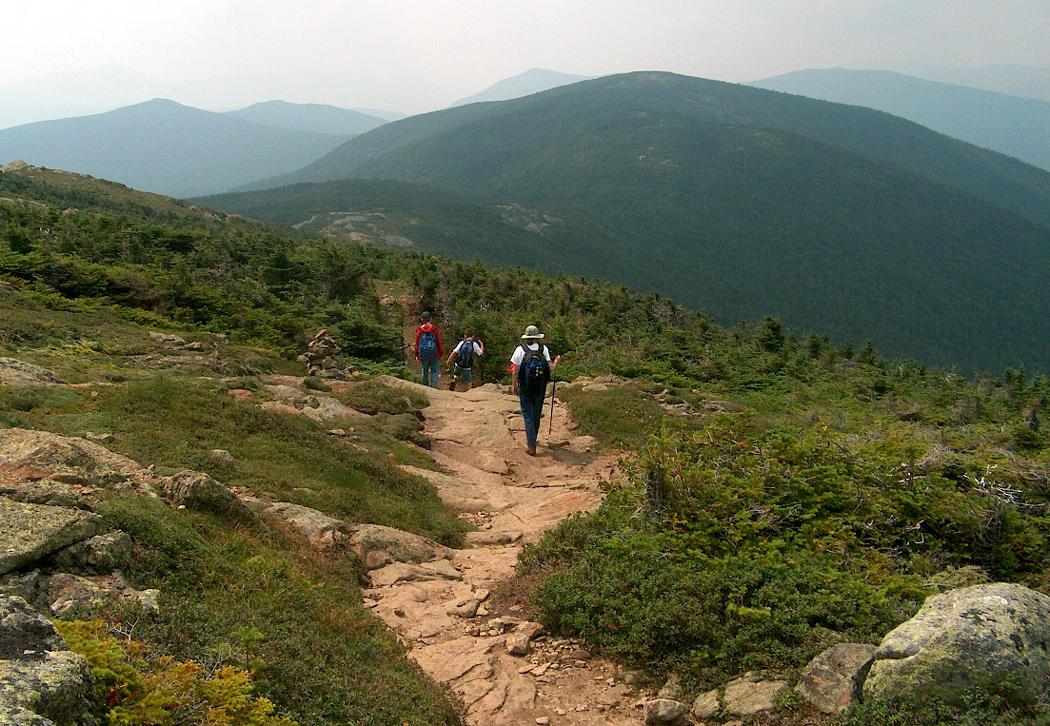Appalachian Trail, Presidential Range