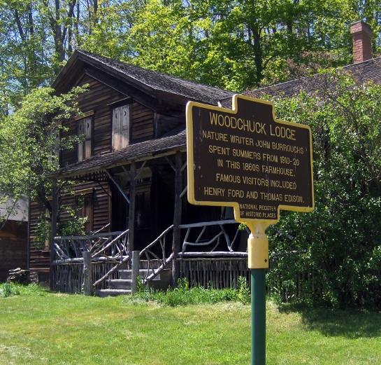 John Burroughs' Woodchuck Lodge, Roxbury, NY