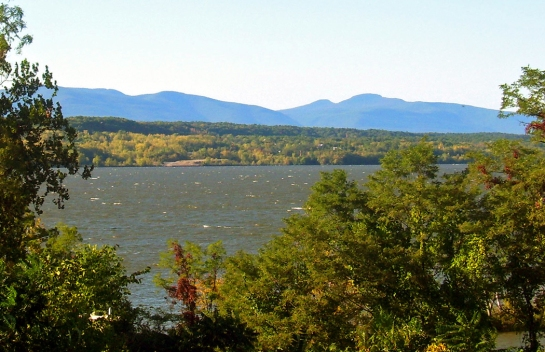 Catskill Mountains and Hudson River