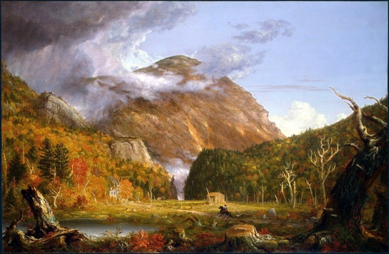 """Crawford Notch"" by Thomas Cole"