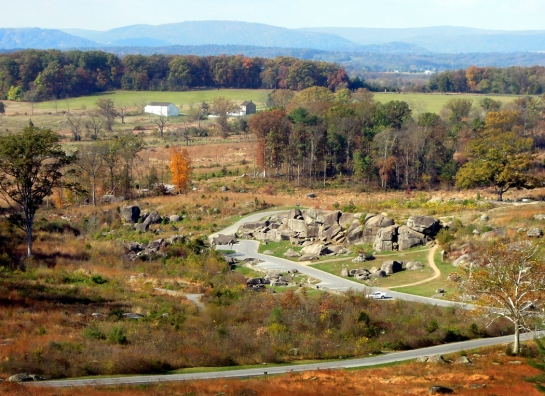 Devil's Den, Gettysburg, Penn.