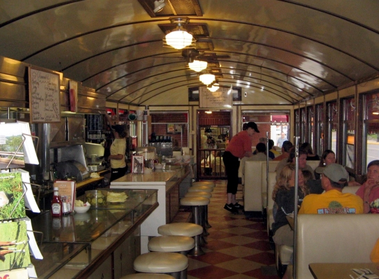 Wellsboro Diner interior