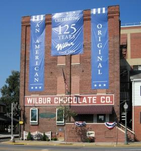 wilbur chocolate facade