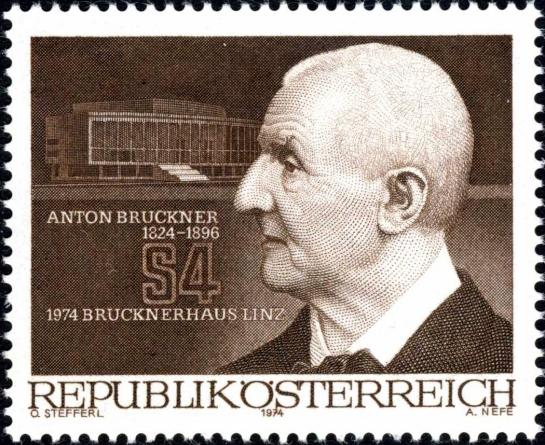 bruckner stamp austria