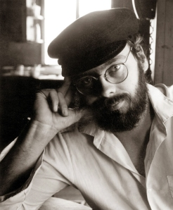 "The author in his ""Van Gogh"" pose 1980"