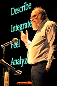 the author lecturing 2005