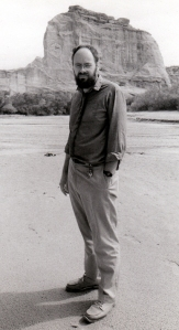 The author at Canyon de Chelly, 1989